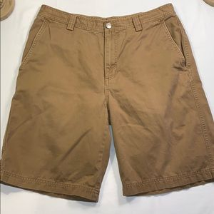 The North Face Brown Long Shorts